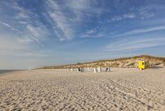 Sylt North Sea beach. North Sea beach of Hörnum, Sylt Stock Photos