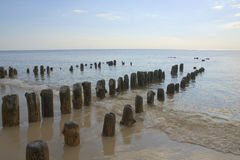 Sylt Shoreline Royalty Free Stock Photos