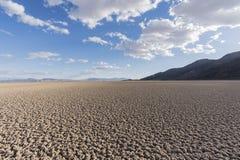 Sylt sydliga Kalifornien för Mojave för torr sjö nationell royaltyfria foton