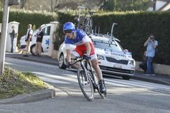 Sylvain Chavanel Cyclist French Royalty Free Stock Images
