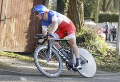 Sylvain Chavanel Cyclist French Royalty Free Stock Image
