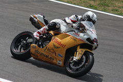 Sylvain Guintoli - Ducati1098R - Effenbert Liberty Royalty Free Stock Images