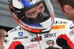 Sylvain Guintoli - Ducati1098R - Effenbert Liberty Stock Photo