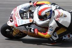 Sylvain Guintoli - Ducati1098R - Effenbert Liberty Royalty Free Stock Photo