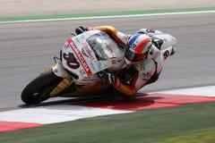 Sylvain Guintoli - Ducati1098R - Effenbert Liberty Royalty Free Stock Photos