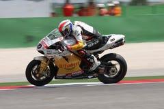 Sylvain Guintoli - Ducati1098R - Effenbert Liberty Royalty Free Stock Photography