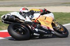 Sylvain Guintoli - Ducati1098R - libertà di Effenbert Fotografia Stock