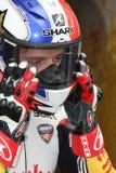 Sylvain Guintoli - Ducati1098R - Vrijheid Effenbert Stock Afbeelding
