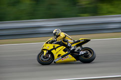 Sylvain Guintoli - tecnologia 3 di Yamaha Fotografie Stock