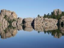 Sylvan jezioro, Południowy Dakota Zdjęcie Stock