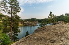 sylvan lake Royaltyfria Bilder