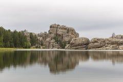 sylvan lake royaltyfria bilder
