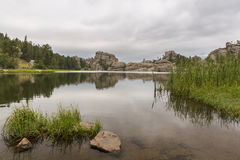 sylvan lake royaltyfri bild