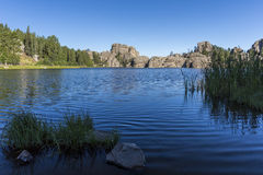 sylvan lake royaltyfri fotografi