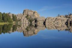 sylvan lake royaltyfri foto