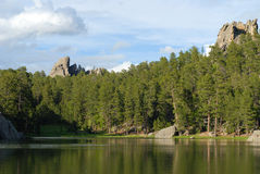 Sylvan Lake. In Custer State Park Royalty Free Stock Image