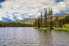 sylvan lake arkivbilder