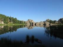 Sylvan Lake. In the Black Hills of South Dakota Royalty Free Stock Photo