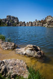 Sylvan Lake Stock Image