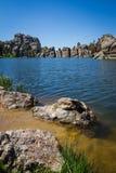 Sylvan Lake. In Custer state park, South Dakota Stock Image