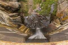 Sylvan Lake Dam royaltyfri foto