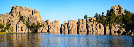 Sylvan Lake. Lakota Black Hills Royalty Free Stock Image