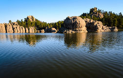 Sylvan Lake. Lakota Black Hills Stock Image