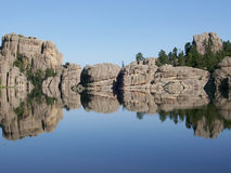 Sylvan Lake, le Dakota du Sud Photo stock