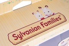 Sylvanian-Familien-Logo Stockbild