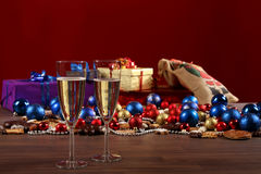 Sylvester and christmas Still-life Royalty Free Stock Images