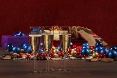 Sylvester et Encore-durée de Noël Photographie stock