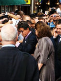 Sylvester Stallone At The Expendables Premiere Stock Images