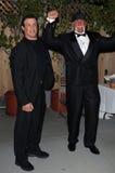 Sylvester Stallone Hulk Hogan royaltyfri foto