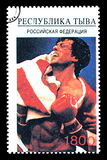 Sylvester Stallone Postage Stamp Immagine Stock