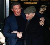 Sylvester Stallone, Robert DeNiro Royalty Free Stock Photos