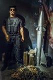 Sylvester Stallone wosku postać Obrazy Royalty Free