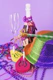 Sylvesterabende Leben der 2011 Party noch Stockbilder