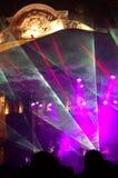 Sylvesterabende magische Show Stockfoto