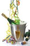 Sylvesterabende Party- Stockbild