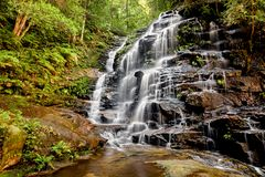 Sylvia Falls in Blue Mountains of Australia, New South Wales, NS stock photos