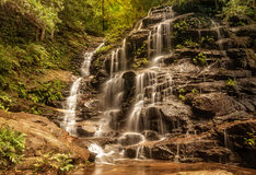 Sylvia Falls, Valley of the Waters, Blue Mountains, Australia. Stock Image