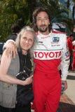 Sylvia Plachy y hijo Adrien Brody  Fotos de archivo libres de regalías