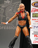 Sylvia Tremblay fitness star Stock Photo