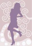 sylwetka Royalty Ilustracja