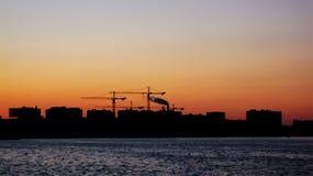 Sylwetka Amsterdam Zdjęcie Royalty Free