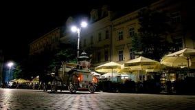 Sylwetka fracht, Krakow, Polska zbiory wideo