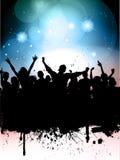 Grunge Partyjny tło Zdjęcia Royalty Free