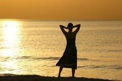 sylwetka słońca Fotografia Stock