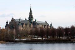 sylwetka Stockholm obrazy stock