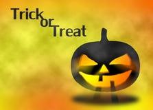 Sylwetki bani Halloweenowa głowa Fotografia Stock